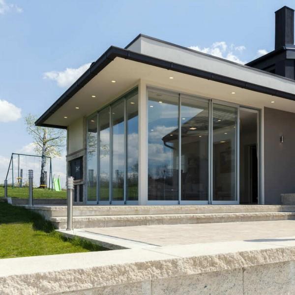 Außen Sonnenschutzfolie Fenster Silber Hell - Hohe Lichtdurchlässigkeit