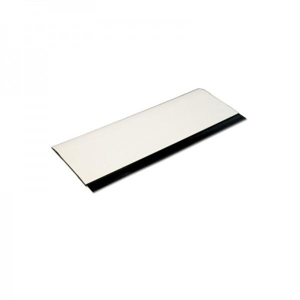 PVC Rakel für Folien mit Gummi-Lippe