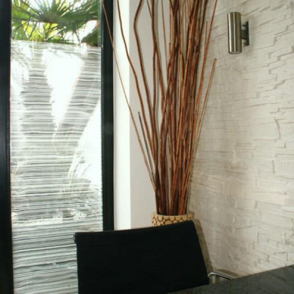 Glasdekorfolie Holz Maserung